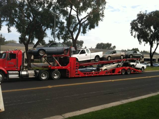 Hauling Cars and Trucks